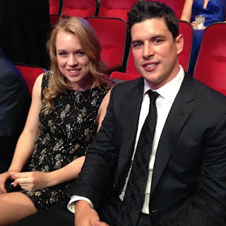 Sidney Crosby and his wife Kathy Leutner