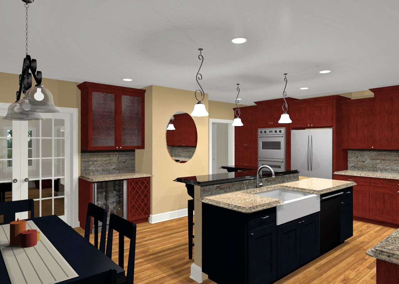 awesome shaped kitchen island | Design A Kitchen Island: L Shaped Kitchen with Island Ideas