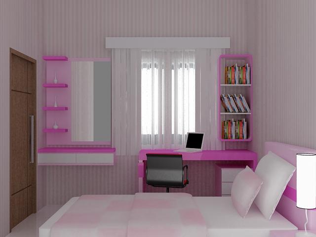 Interior Kamar Anak Kamar Tidur Anak Perempuan