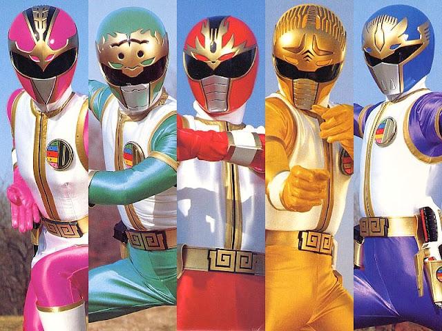 Gosei Sentai Dairanger Sub Indo