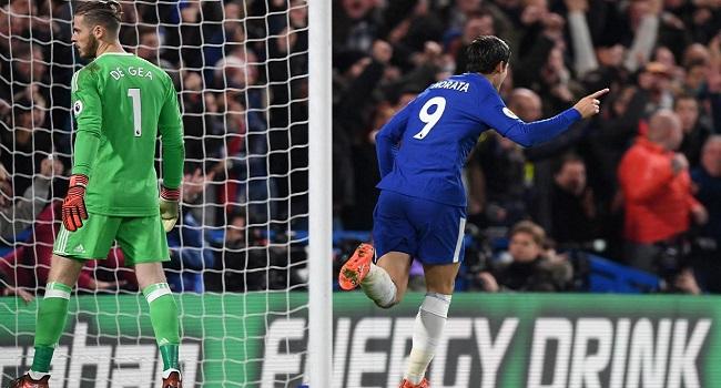 cuplikan gol chelsea vs manchester united 1-0