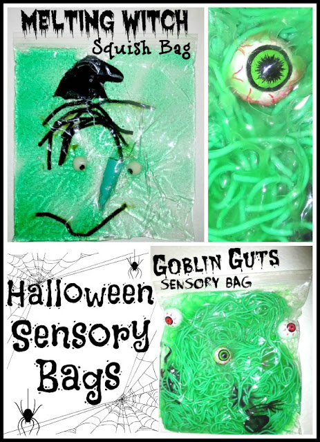 Make Your Kid Squeal with Halloween Sensory Bins