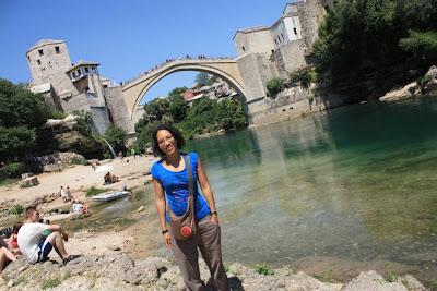 Stari Most and Neretva River in Mostar