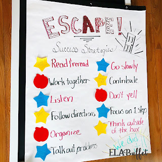 ESCAPE Room activities in the classroom are awesome! They help kids learn a specific topic AND practice critical thinking, team-building, reading, and writing skills! Kids love to break-out and they love being immersed in the adventure! #breakout #escaperoom #classroomfun #escaperoomgame #funactivites #middleschool