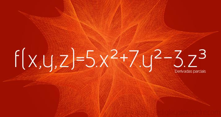 Calcule derivadas parciais de uma função real de variáveis reais com este widget