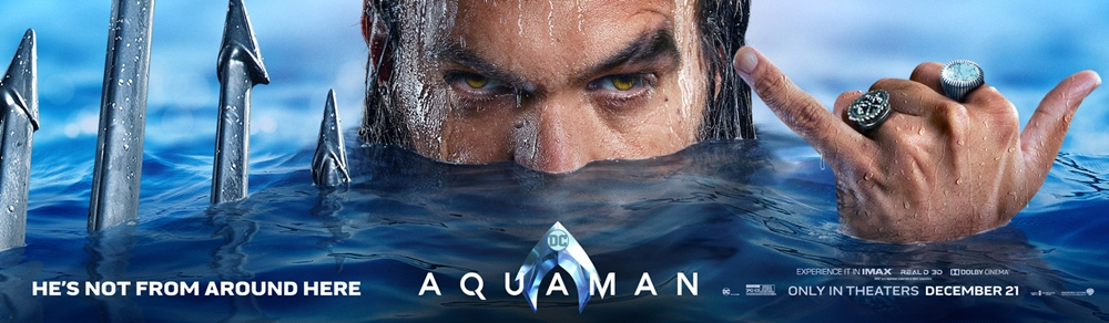 Aquaman, James Wan, Warner Bros. Pictures, DC Films, Superheroes, Atlantis, Jason Momoa, Amber Heard, Movie Review by Rawlins,