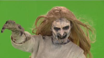 Na imagem: SBT começa a prepara câmera escondida ainda mais assustadora da menina-fantasma. Divulgação/SBT