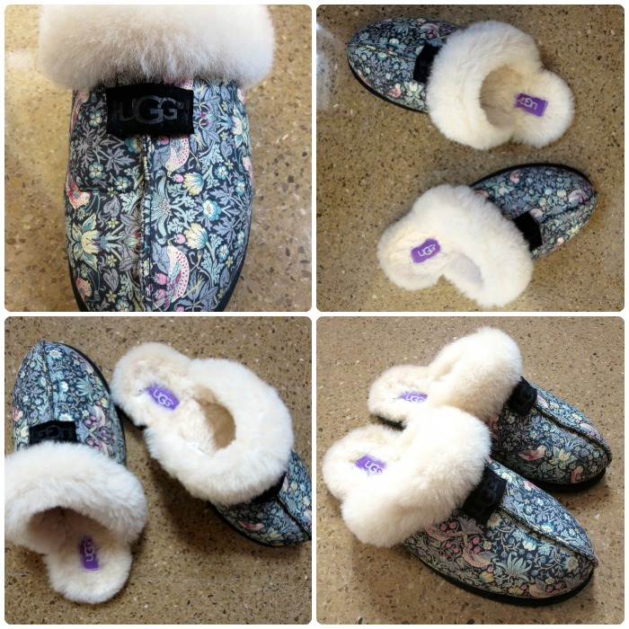 UGG Liberty Art Fabrics Limited Edition slippers