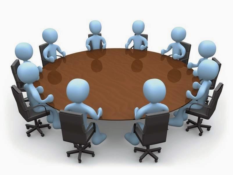 السكرتير والإجتماعات