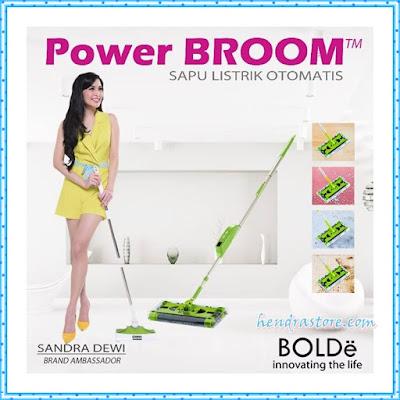 Jual Sapu Elektrik Power Broom Bolde Murah