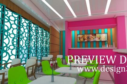 Biaya jasa design franchise restoran semi fastfood per outlet