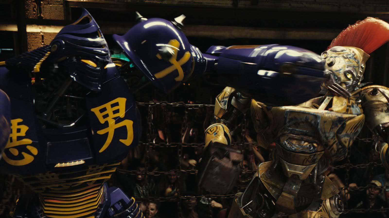 Real Steel But Only The Punches : ヒュー・ジャックマンが主演した近未来ロボット・ボクシング映画「リアル・スティール」のパンチをくり出すカットばかりを集めた迫力のどつきまくりビデオ ! !