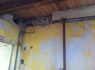 renovation project how to replace a rotten joist in a derelict propeerty