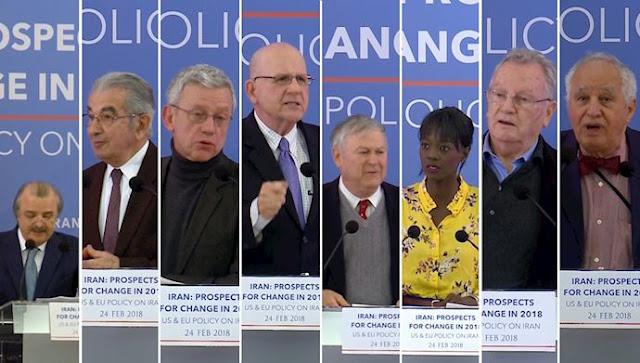 کنفرانس بین المللی در پاریس با حضور نمایندگان ارشد کنگره آمریکا و شخصیتهای سیاسی و کارشناسان از فرانسه و کشورهای عربی و اروپایی