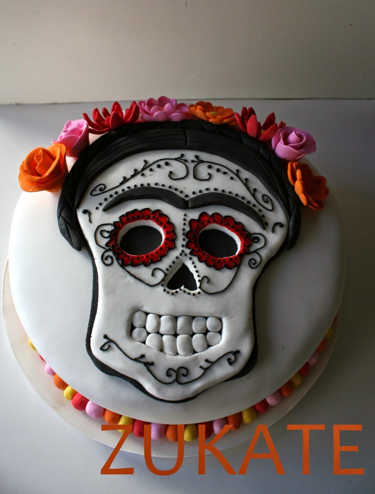 Torta De Frida Kahlo Para Paula Zukate