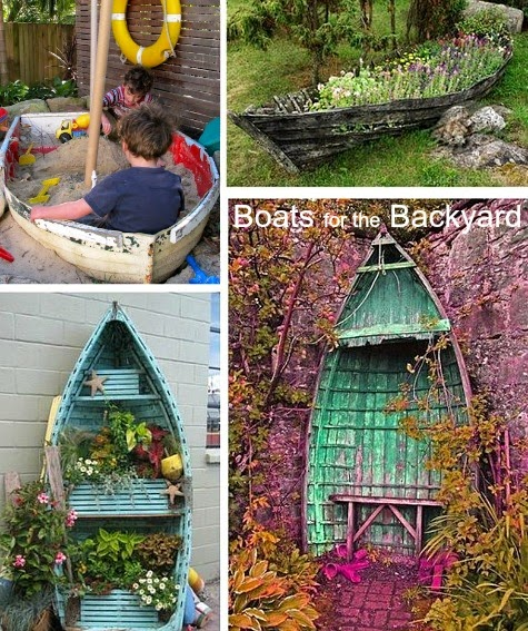 Top backyard and garden decor ideas for coastal style for Fun garden decoration ideas