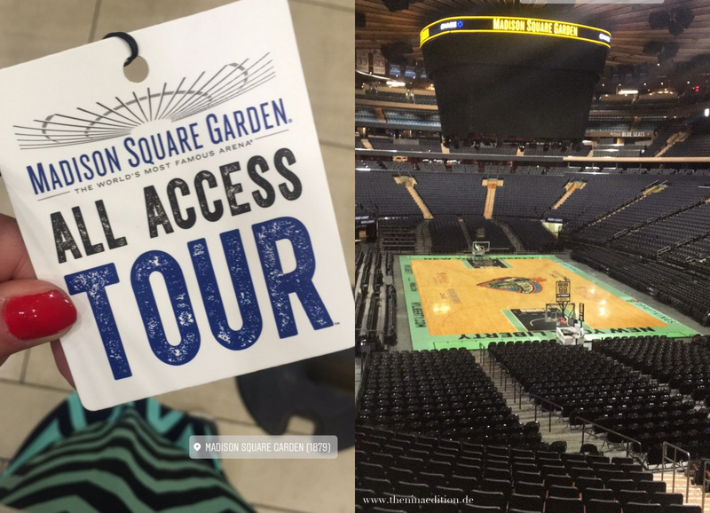New York City Madison Square Garden All Access Tour