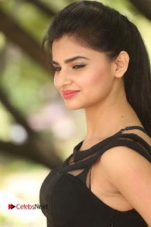 Actress Kamna Ranwat  Pictures in Black Short Dress at Selfie Raja Interview  0044