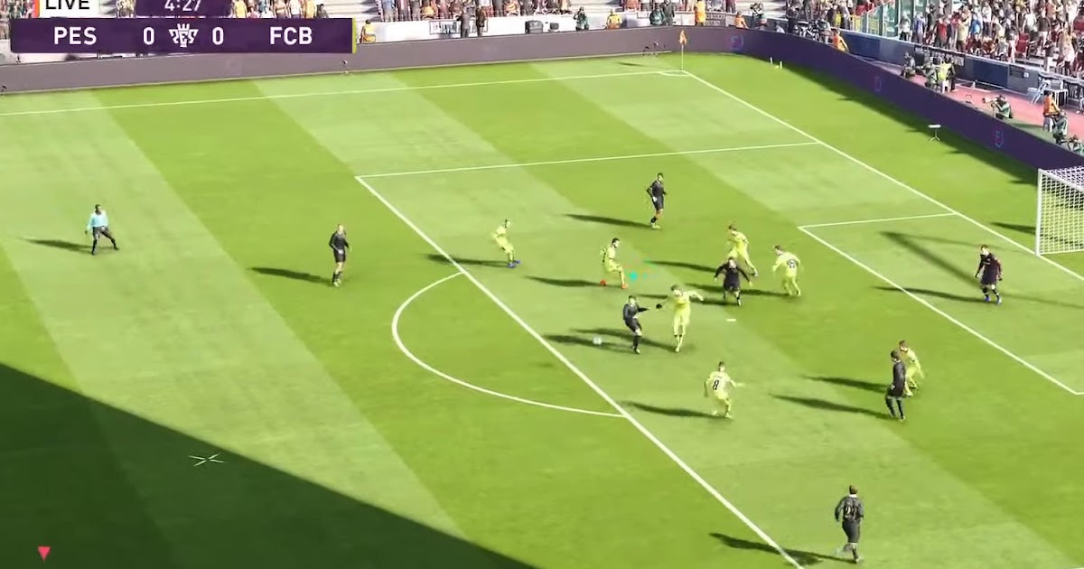 First Look: PES 2020 Gameplay - Footy Headlines