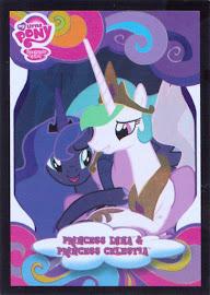 My Little Pony Princess Luna & Princess Celestia Series 3 Trading Card