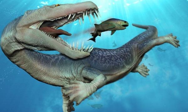 Nothosaurus merupakan hewan laut purba yang hidup selama periode Triassic lebih dari 200 juta tahun yang lalu
