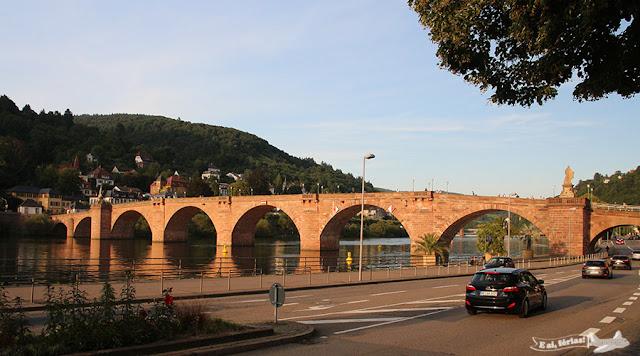 Alte Brücke, Ponte Antiga, Heidelberg