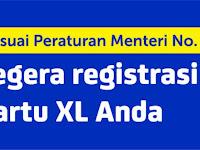 Cara Registrasi Ulang Kartu XL Sesuai KTP dan KK