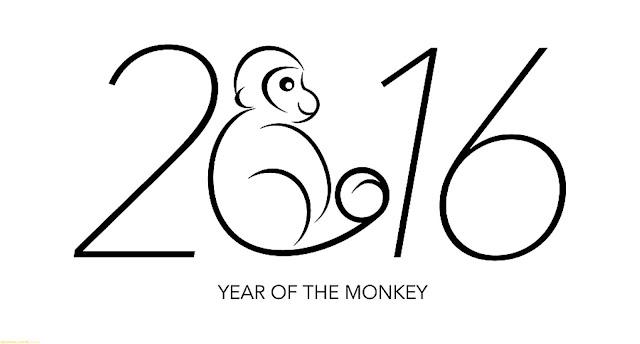 Tải bộ hình nền năm con khỉ 2016 đẹp cho Window