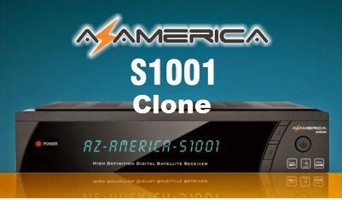 Resultado de imagem para AZAMERICA S1001 SUPER CLONE ATUALIZACAO