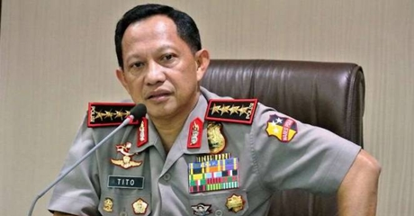 Kapolri Tegaskan Ada Bukti Kuat Makar Ingin Gulingkan Presiden Jokowi