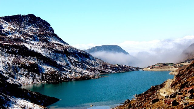 Tsongmo Lake or Changu Lake is a glacial lake in the East Sikkim