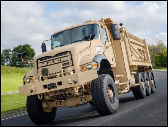 Mack U.S. Army Heavy Dump Truck