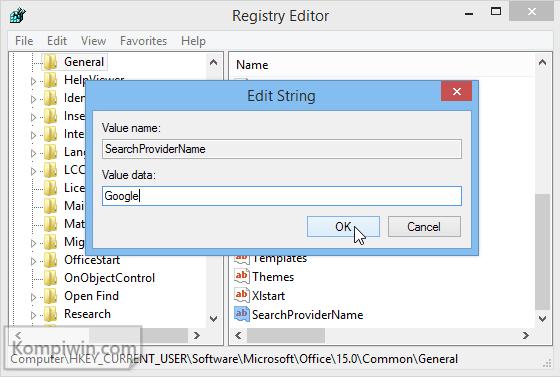 Cara Mengganti Mesin Telusur di Microsoft Word 2013 5