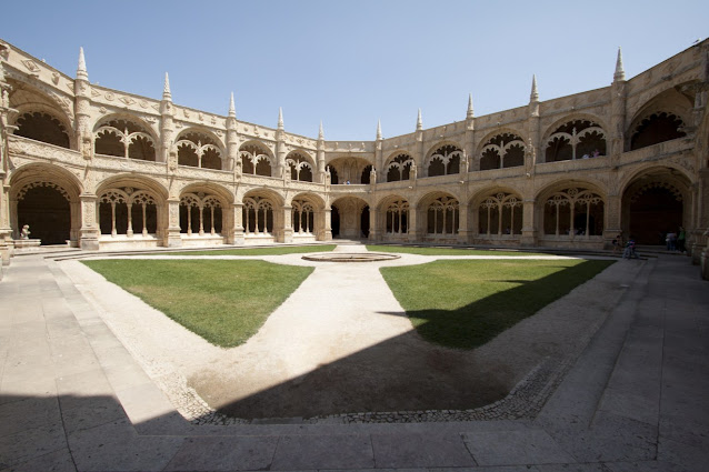 Mosteiro dos Jeronimos-Belem-Lisbona