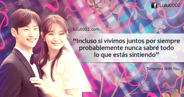 kdramas frases tomorrow with you