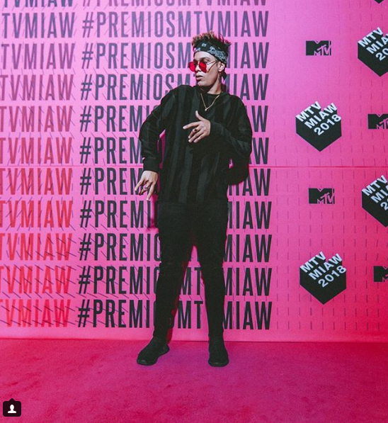 paisa vlogs, mtv meaws 2018, alfombra rosa
