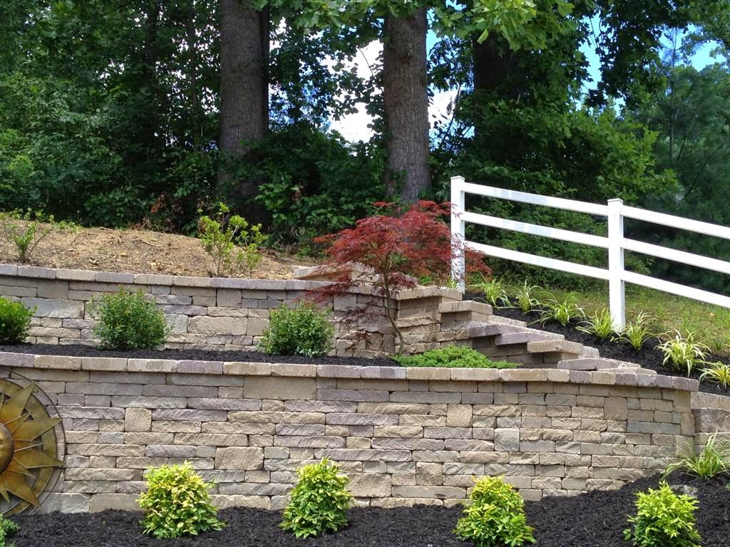 Very best Chapel Stone Garden Wall | Life Time Pavers VQ55