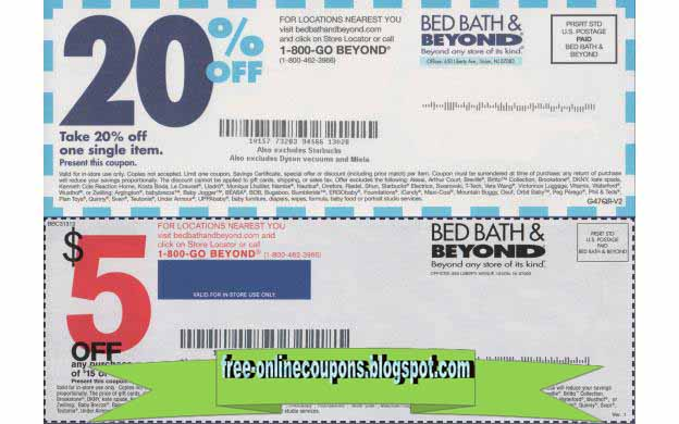 bed bath and beyond 20 off coupon printable coupons 2018 bed bath and beyond coupons 13554