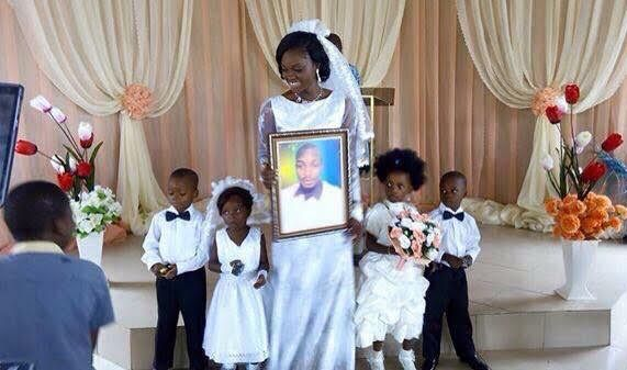 lady marries in absence of husband