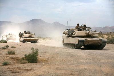 Abrams tank gulf war
