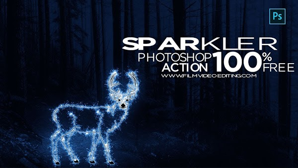 How to Create Sparkle Effect in Photoshop | Sparkle Effect in Photoshop Action