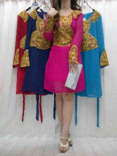 Dress Sifon Krancang fit to L