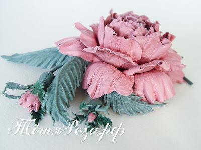 тетя Роза, студия Тетя Роза, цветы