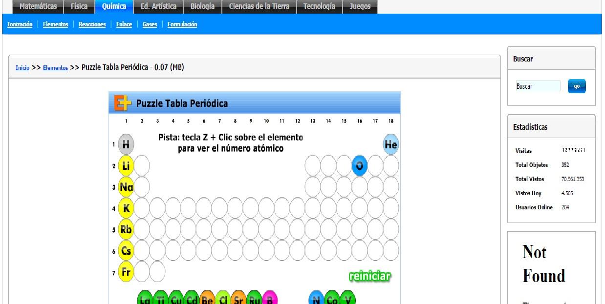 Qumica elemental ii actividades para tabla peridica y balanceo de actividades urtaz Gallery
