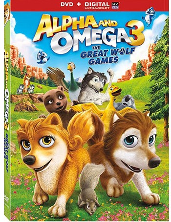Alpha and Omega 3 The Great Wolf Games 1080p HD
