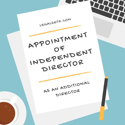 Board Resolution For Appointment Of Independent Director As An