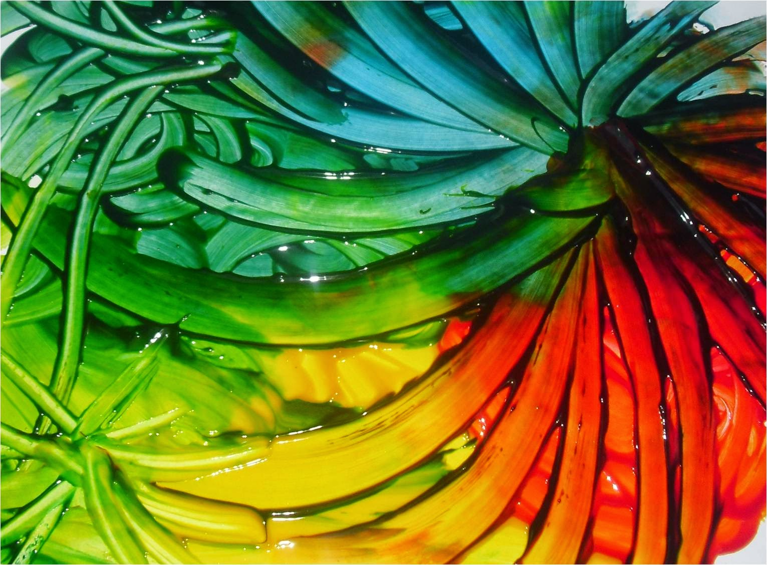 Ram Nu Masyithoh 18 Bandengan Kota Pekalongan Finger Painting