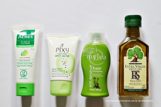 Facial Wash and Hair Care