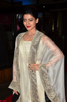 Samantha Ruth Prabhu cute in Lace Border Anarkali Dress with Koti at 64th Jio Filmfare Awards South ~  Exclusive 002.JPG