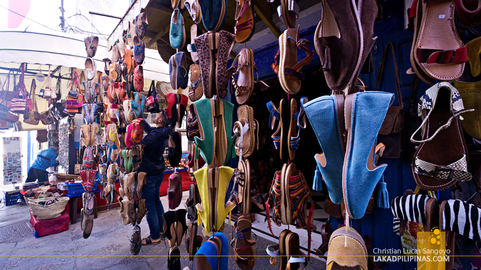 Asilah Medina Morocco Shopping Shoes